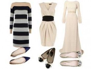 Tips Padu Padan Dress Dan Sepatu Flat Shoes Latest Fashion