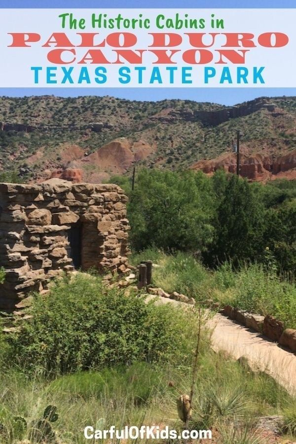 Historic Cabins in Palo Duro Canyon, Texas   Palo duro ...