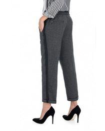 e530caf386 Pantalón de mujer Salsa regular capri mezcla de materias primas · Moda · El  Corte Inglés