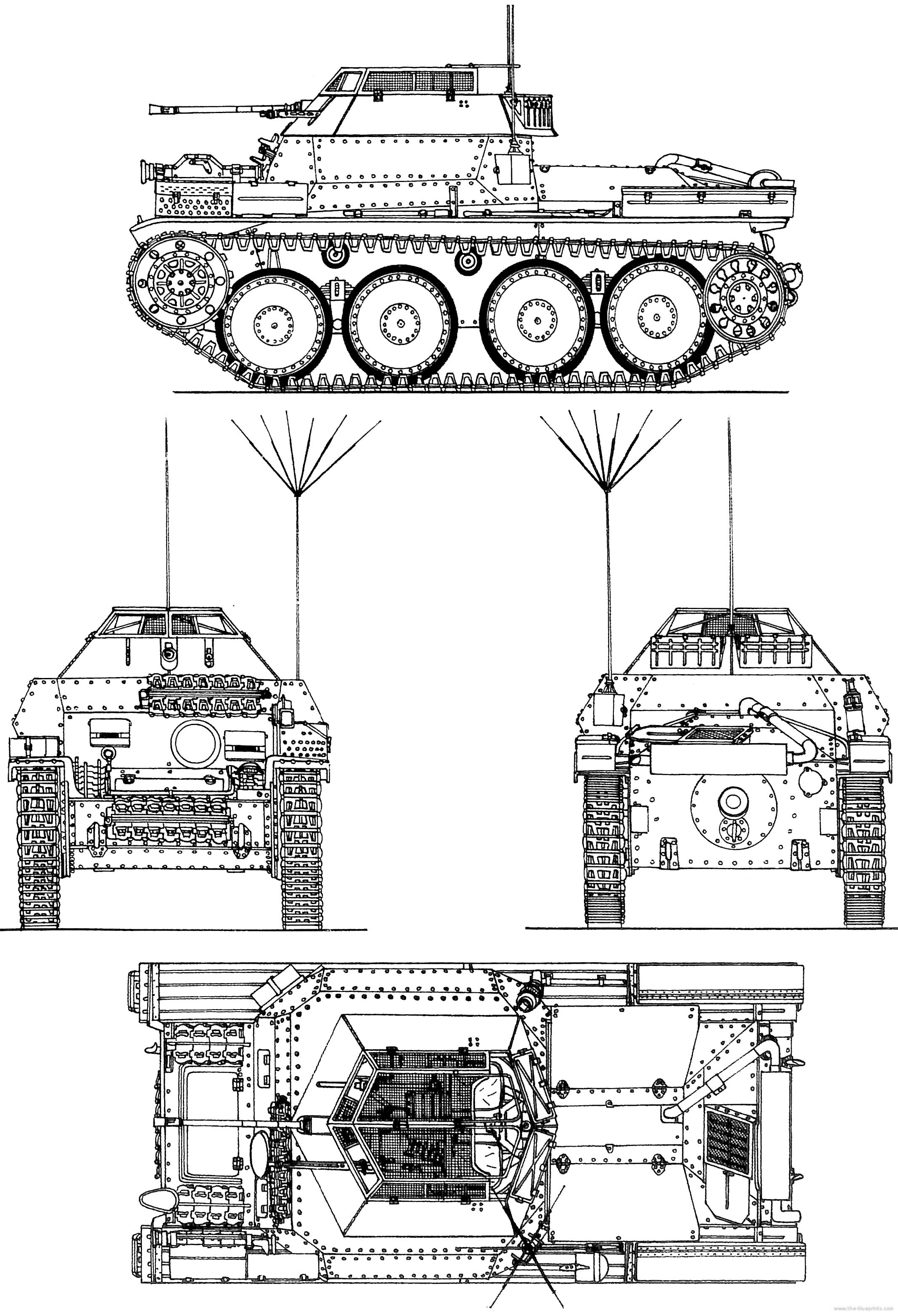 140 1 Panzer The Blueprints