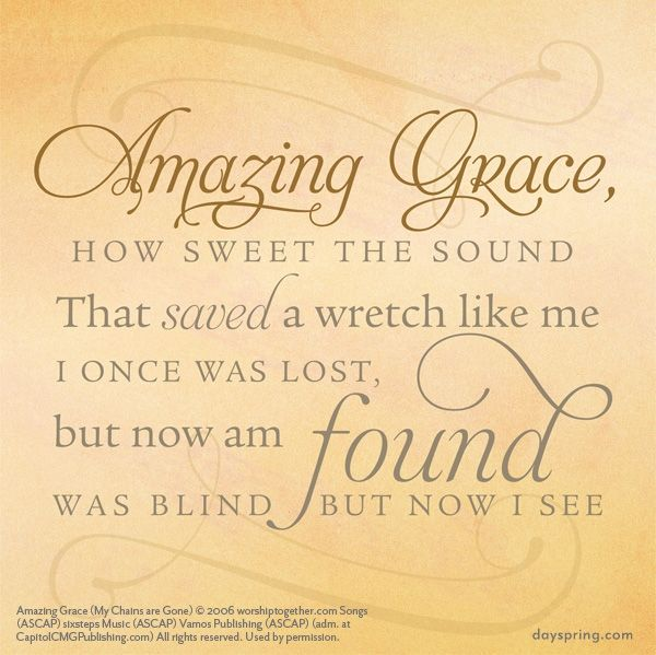 Amazing grace lyrics for life dayspring music lyrics amazing grace lyrics for life dayspring stopboris Image collections