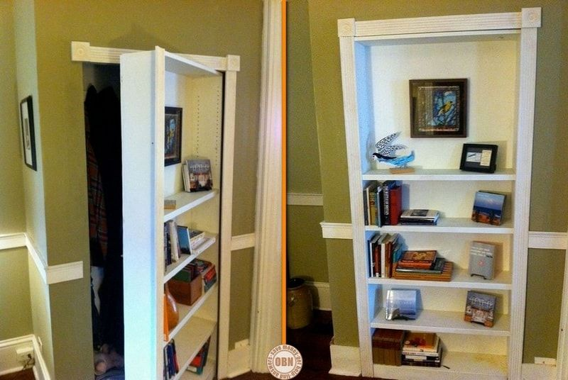 How To Build Your Own Hidden Door Bookcase (With images