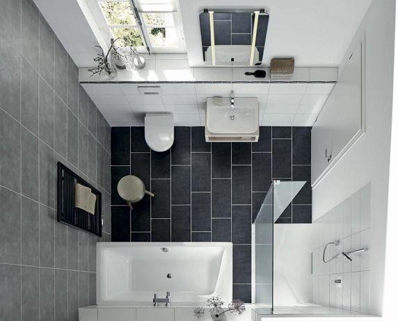 bodengleiche duschplätze und badewannen für kleine badezimmer, Badezimmer