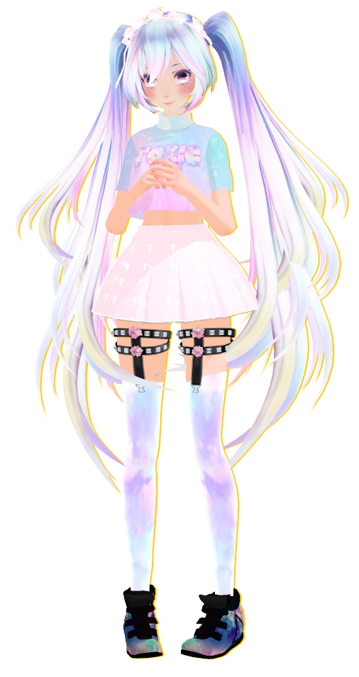 [MMD] TDA Pastel Miku +DOWNLOAD by Cadene on DeviantArt