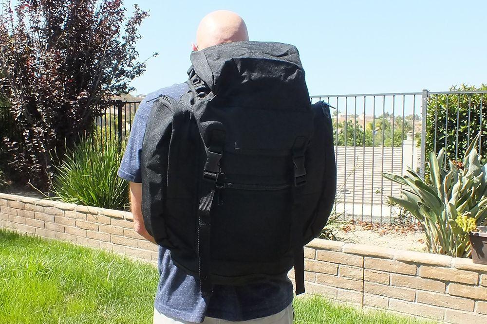 UK British Nato 30 Liter Combat Military Rucksack Pack Backpack Black e4df87921b299