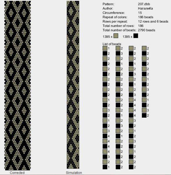 СХЕМЫ ЖГУТОВ | Muster | Pinterest | Ganchillo, Collares y Patrones