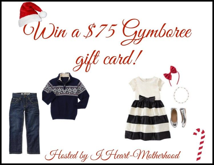 Create New Memories, Like Holiday Pajamas and Family Photos! Win a $75 #Gymboree Gift Card #ad