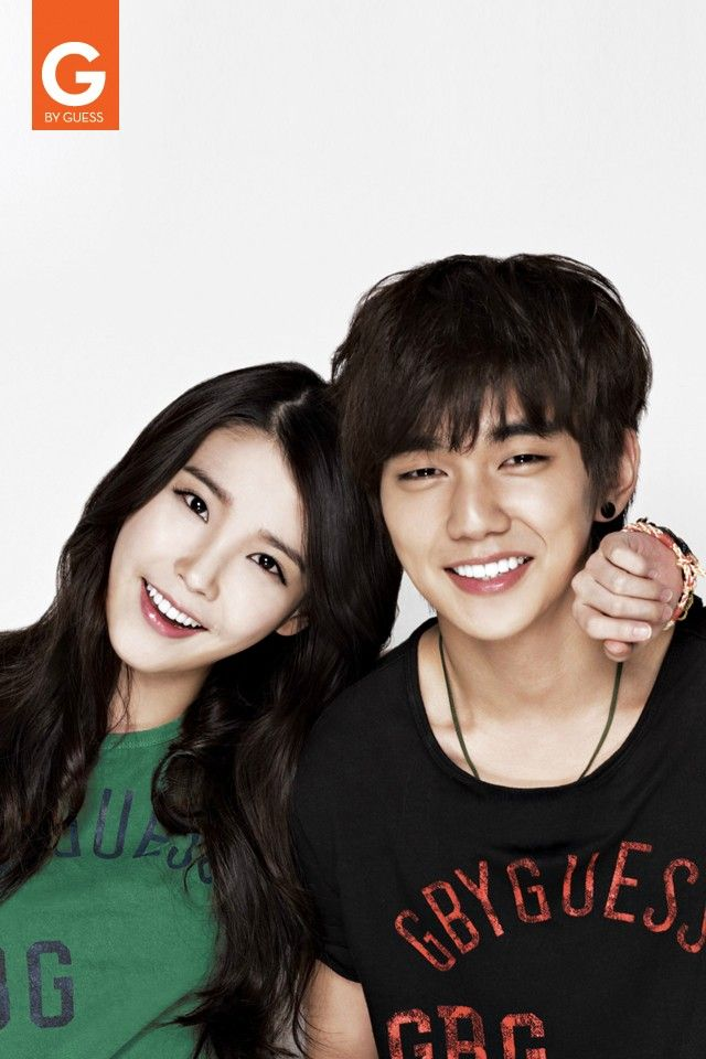 Iu and yoo seung ho g by guess yoo seung ho asian iu and yoo seung ho g by guess yoo seung ho asian celebrities and korean actors altavistaventures Images