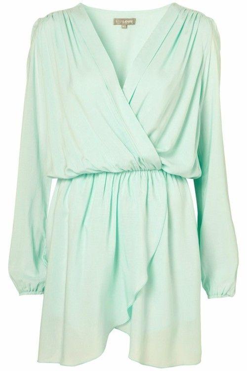 Longsleeve Celadon Dress