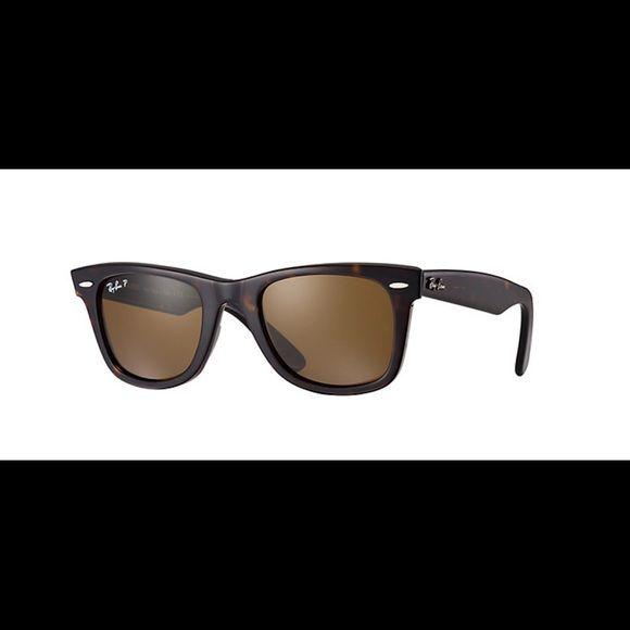 Ray Ban Polarized Brown Wayfarer Classic Ray Ban Original Wayfarer Classic Sunglasses Blue Aviator Sunglasses