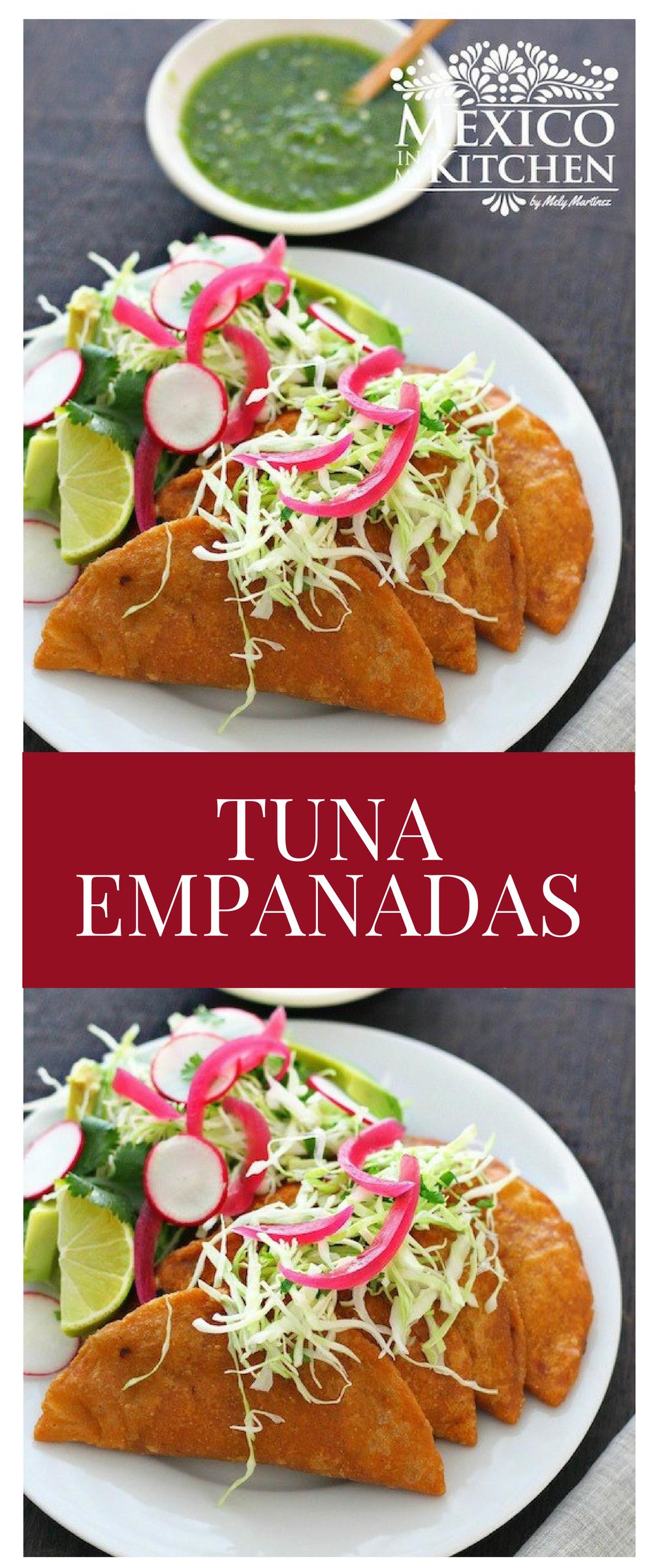 Tuna empanadas Recipe Mexican food recipes, Lent