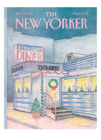 christmas print new yorker covers