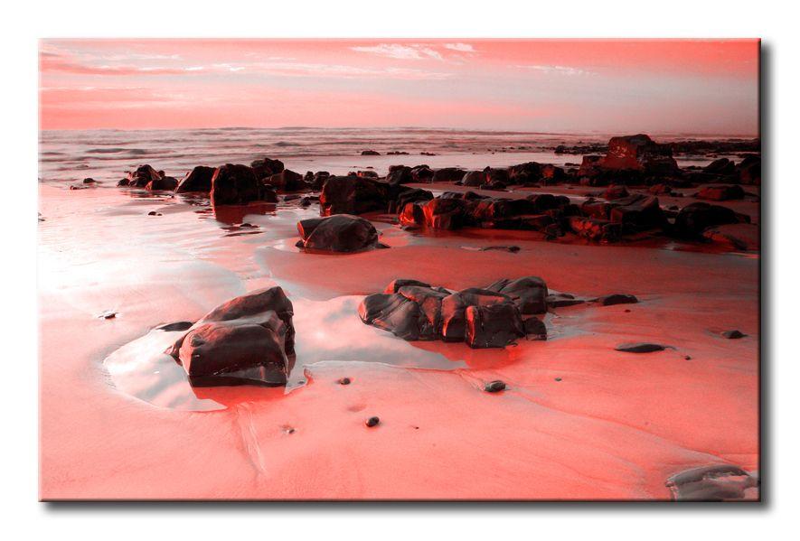 2551826_R / Cuadro Playa rocosa