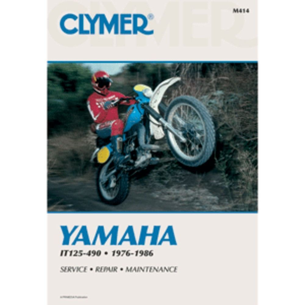 Clymer Yamaha IT125-490 (1976-1986)