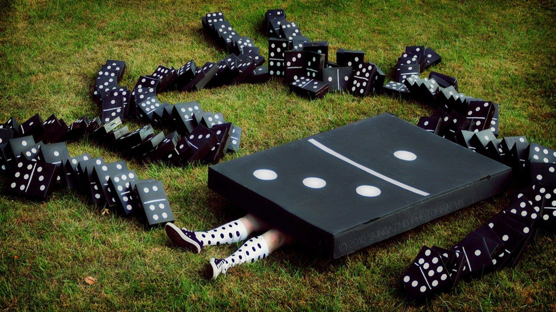 Funny art dominos funny art domino