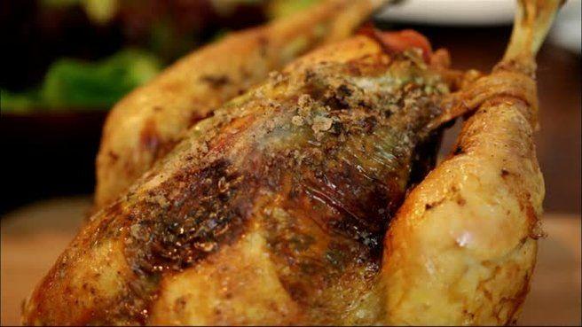 Poulet r ti farci aux pois chiches selon gordon ramsay - Cuisiner les pois chiches ...