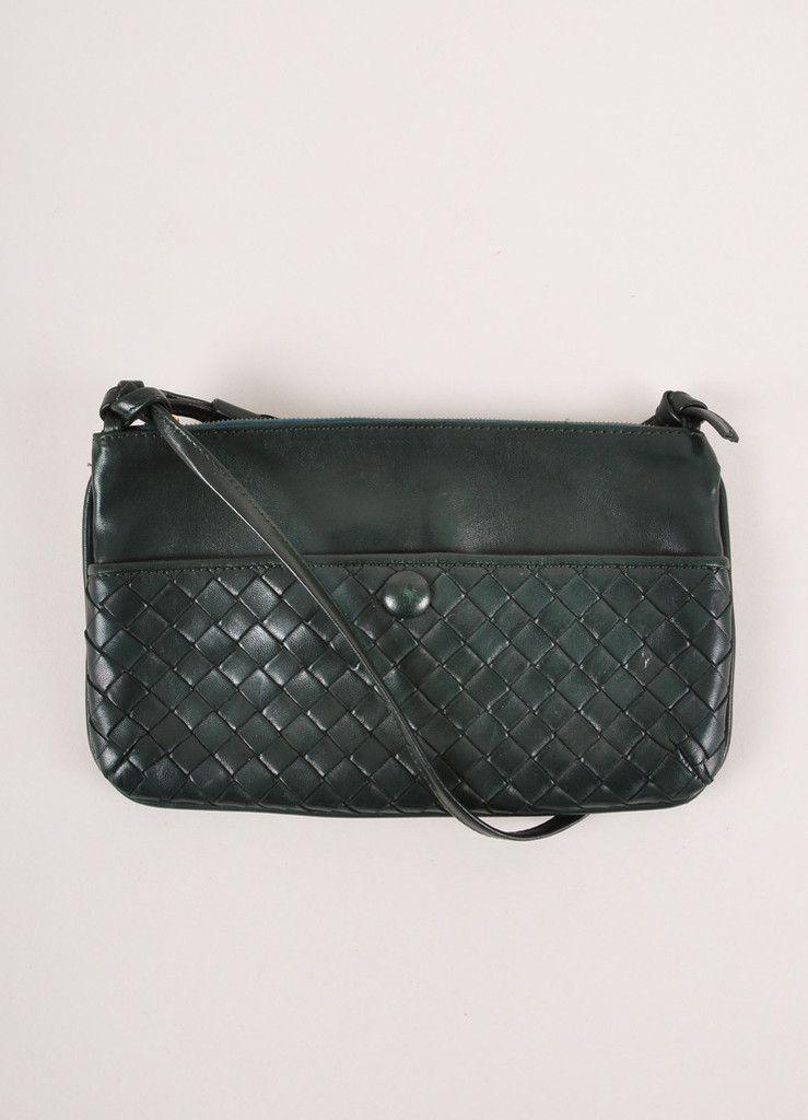 8fe7d711b8f1 Bottega Veneta Crossbody with Signature basket weave – Luxury Garage Sale