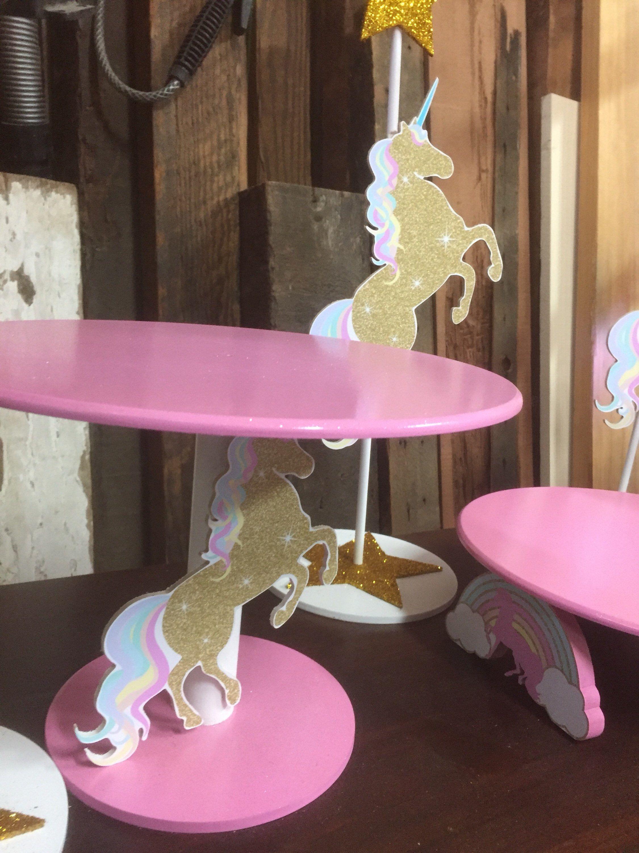 Unicorn Cake Stand Stand , Birthday Party Cake Stand, Princess