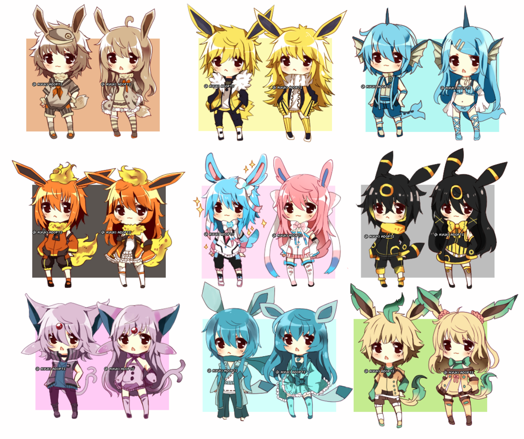 eeveelutions chibi wallpaper - photo #31