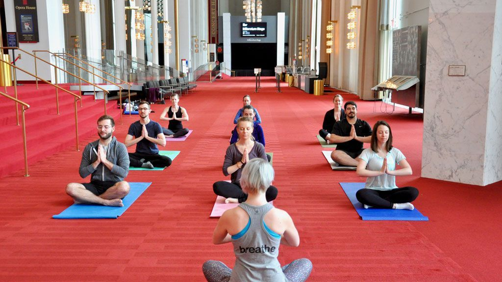 Add To Your Bucket List Free Yoga At The Kennedy Center Free Yoga Kennedy Center Yoga