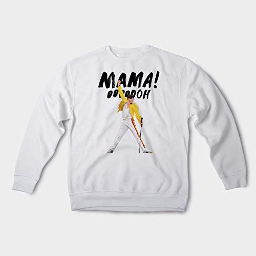 327819a44 Modo Freddie Mercury Sweatshirt for Women and Men Top Long Sleeve Unisex  for Adult Bohemian Rhapsody Gift Ideas Iconic Pose Queen Shirt CP1003,#Top,  #Men, ...