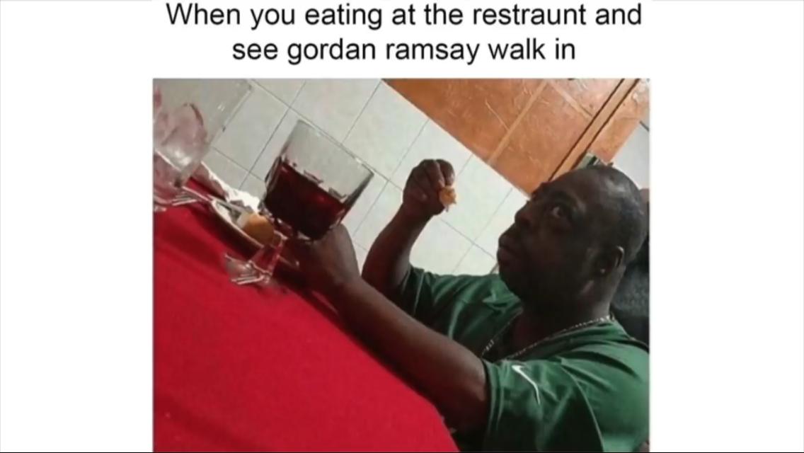 Anyone Watch Kitchen Nightmare Relatable Kitchen Nightmares Memes