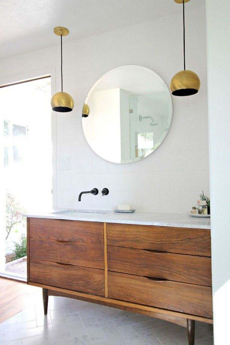 Double Vasque Ikea 29 Amazing Modern Mid Century Bathroom Remodel Ideas Bathroom
