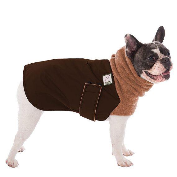 French Bulldog Winter Coat Winter Dog Coat Waterproof Winter Etsy Waterproof Dog Coats Dog Coats Dog Winter Coat