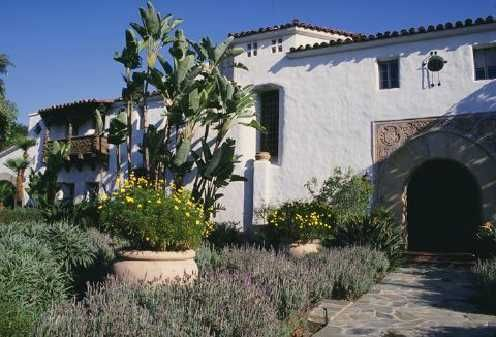 Velvet Linen Spanish Colonial Homes Spanish Exterior Spanish House