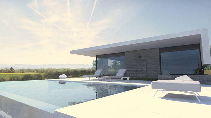 maison contemporaine limonest rhone architecture pinterest villas and architecture