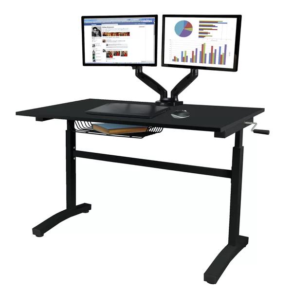 Stennett Height Adjustable Standing Desk Adjustable Standing