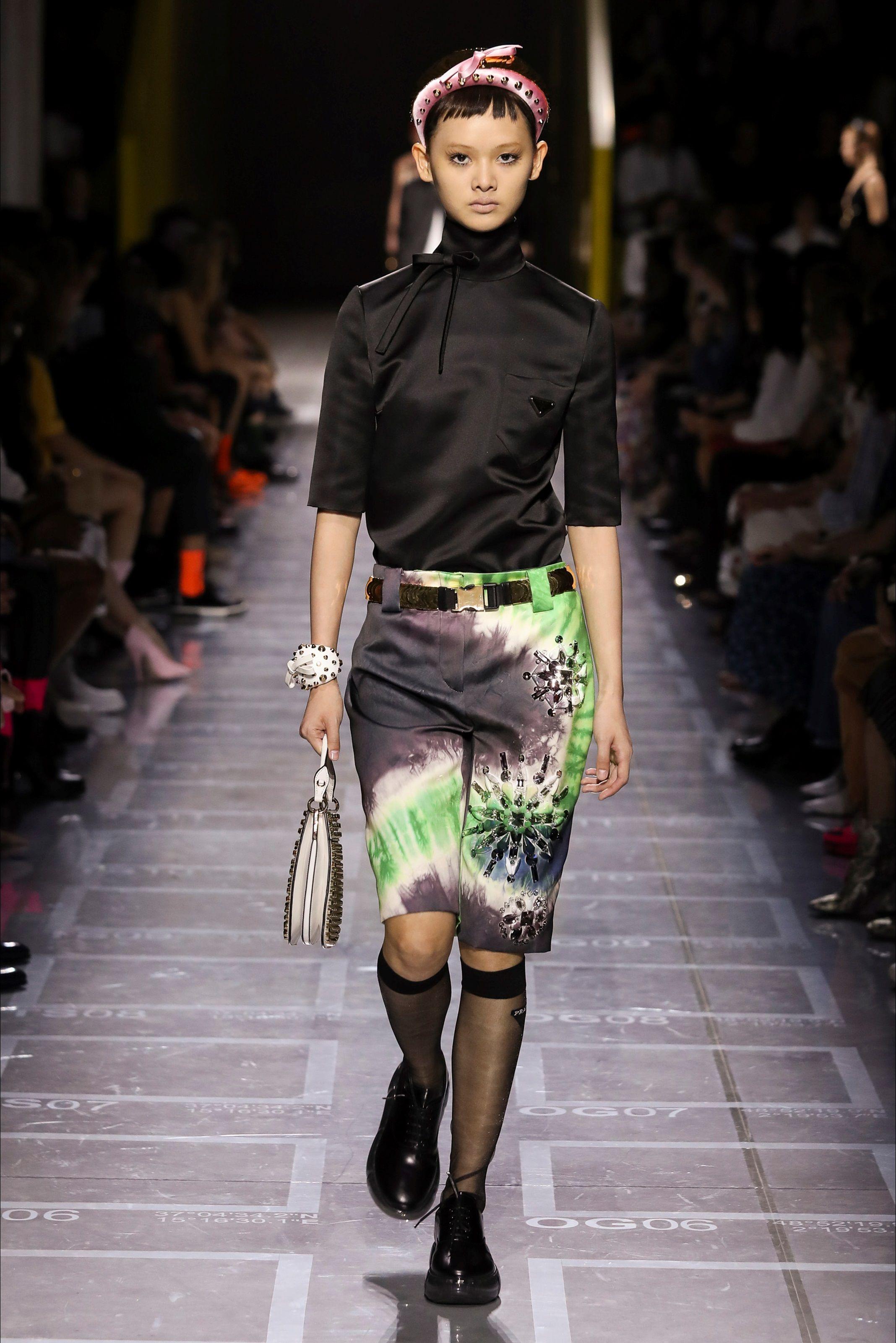 91b37dcf723 Sfilata Prada Milano - Collezioni Primavera Estate 2019 - Vogue ...
