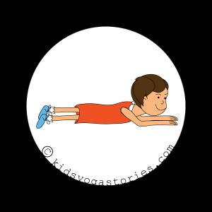 58 Fun And Easy Yoga Poses For Kids Printable Poster