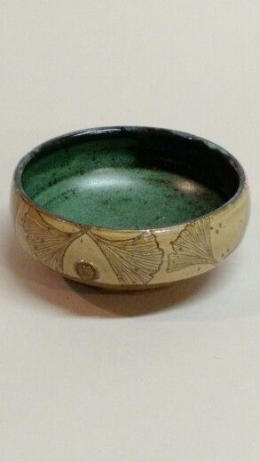 Gingko leaf bowl