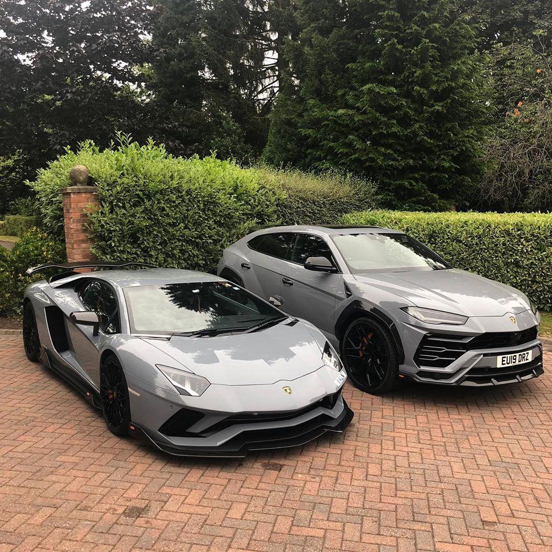 Supercar Duo Luxurycorp Rollsroyce: Lamborghini Aventador SVJ And Urus