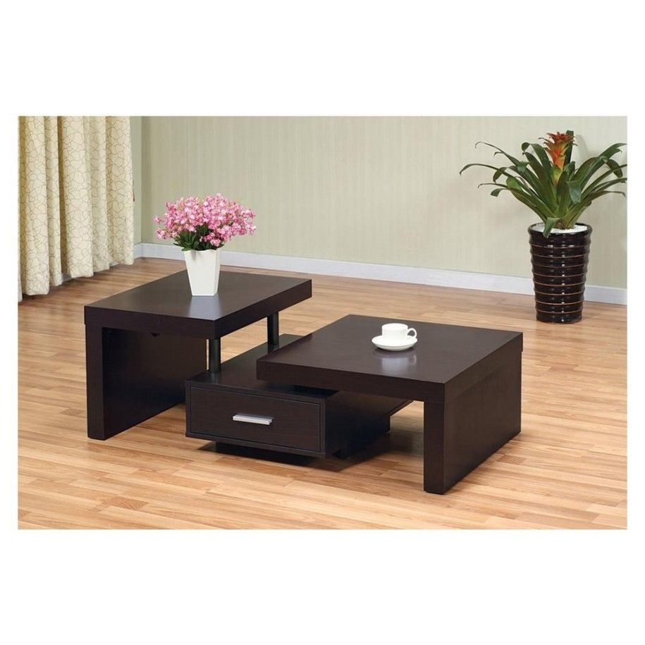 Coffee Table With A Floating Drawer Coffee Table Contemporary Coffee Table Contemporary Coffee Table Design [ 915 x 915 Pixel ]