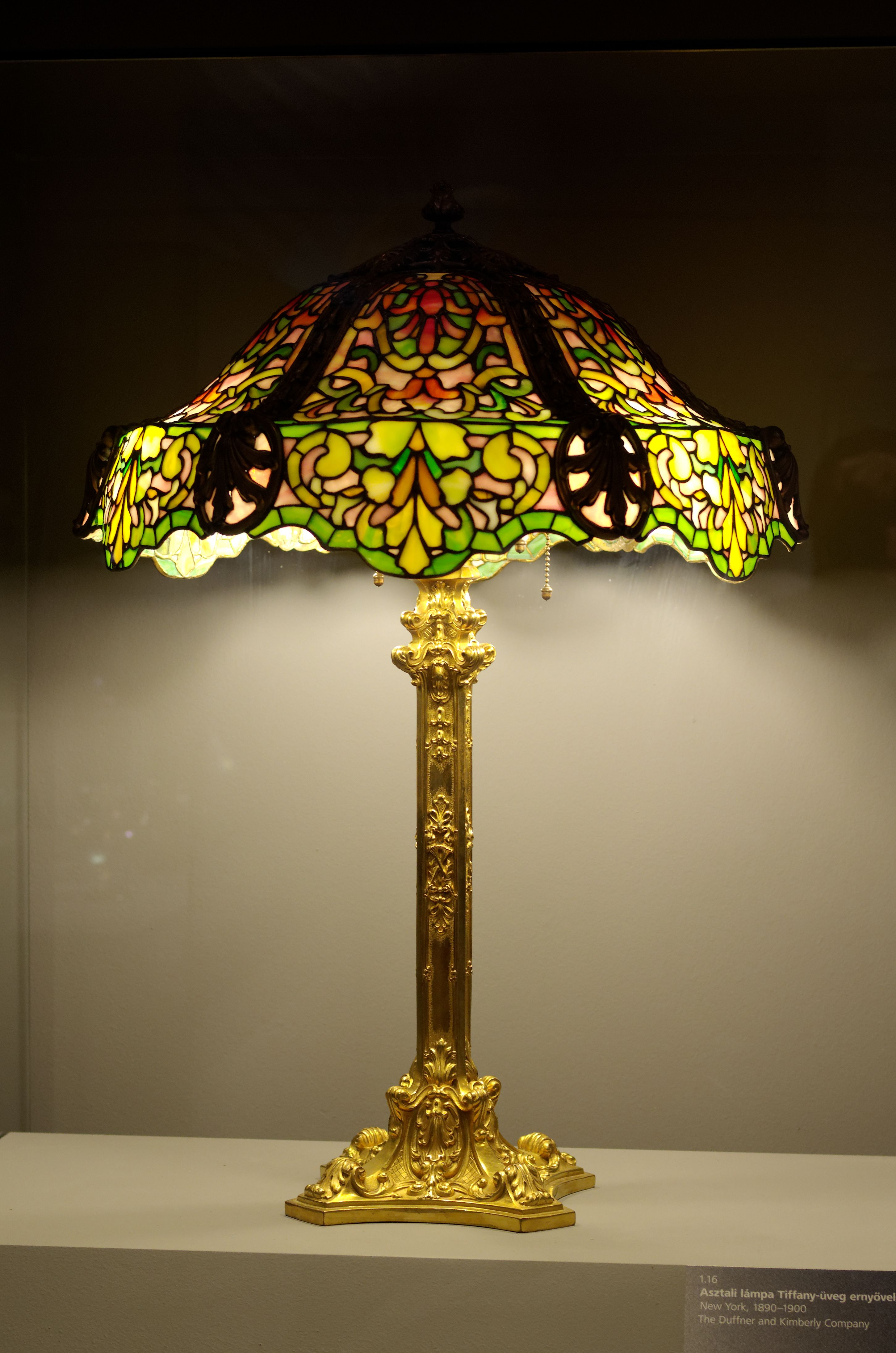 Lampe Tiffany 1890 1900 Tiffany Lamps Tiffany Stained Glass