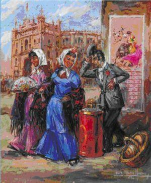 Antigua imagen de las Fiestas de San Isidro MADRID