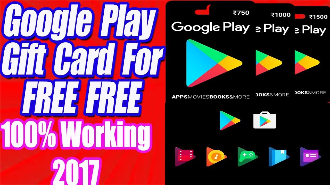 free google play gift card list