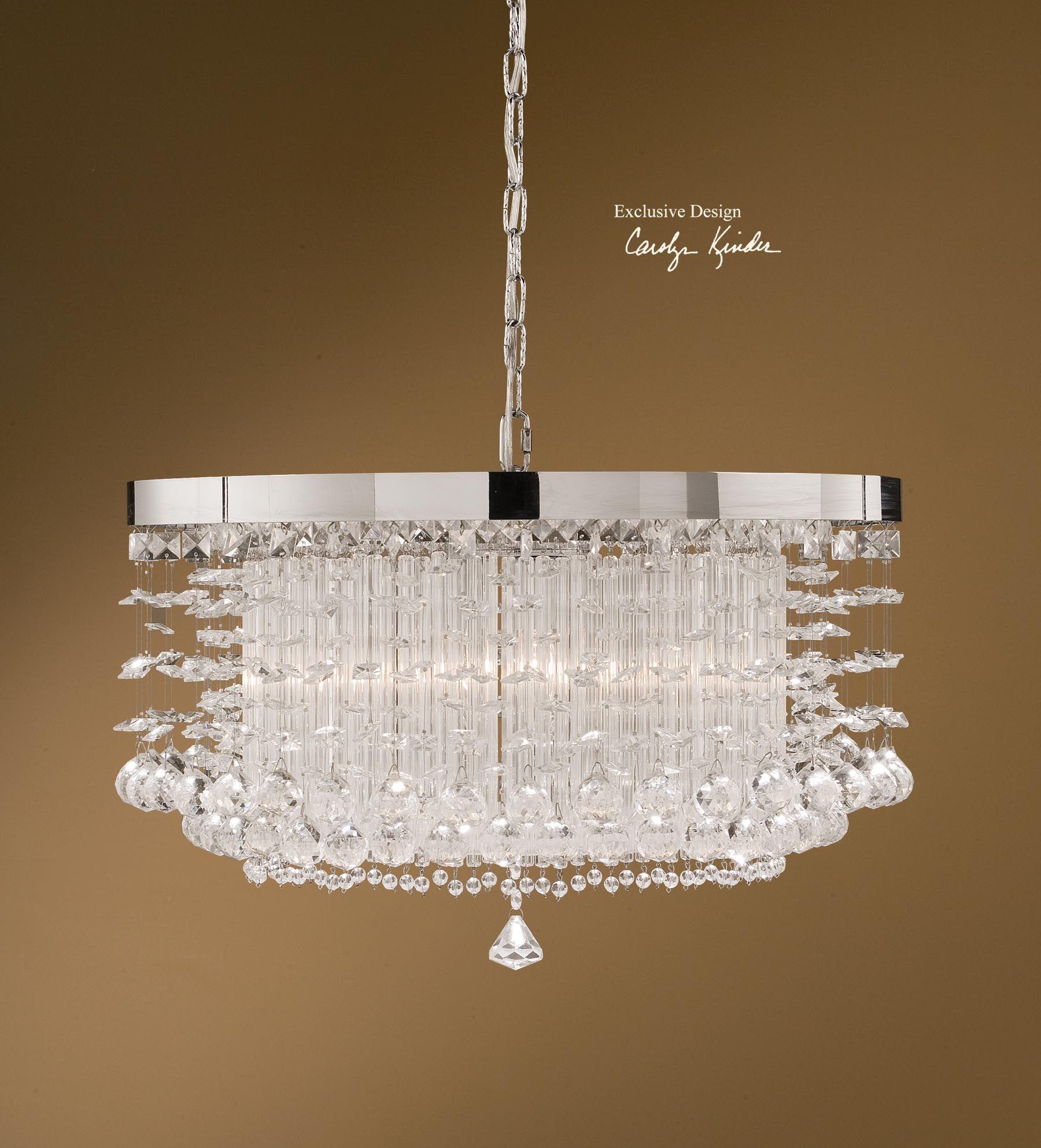 Uttermost Fascination 3 Light Crystal Chandelier | General House ...