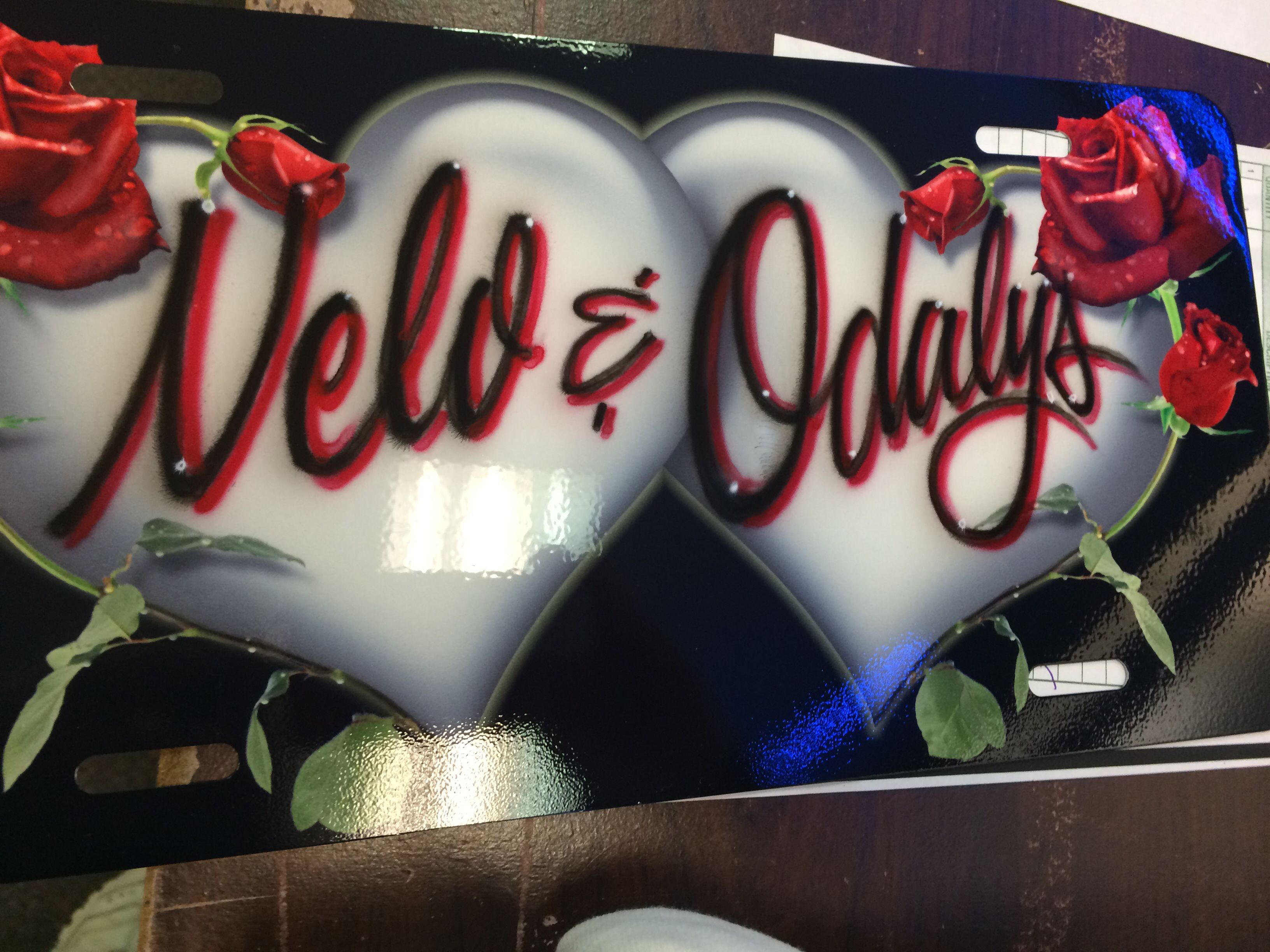 Come in and pick your plate out surprise your girlfriend surprise ...