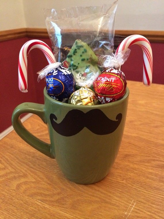 2013 Cute Christmas Hot Chocolate Gifts, Faux Stache Glass ...