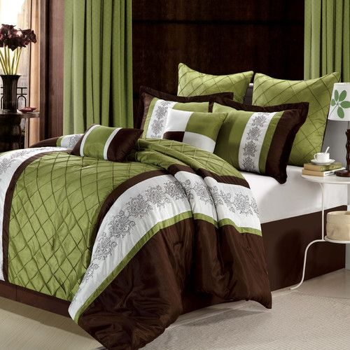 Chic Home Livingston 8 Piece Comforter Set