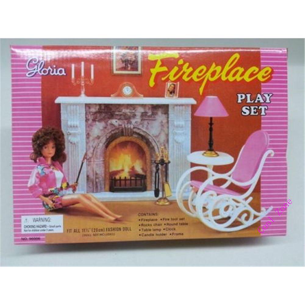 Miniatura Muebles Chimenea Para Barbie Doll House Pretender Jugar Juguetes Para La Muchacha Envío Grati Muñecas Barbie Juguetes Para Niñas Muebles Para Muñecas