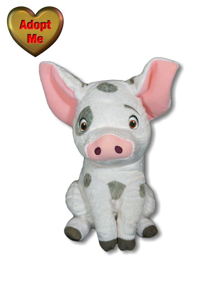 Disney Store Moana Animated Oink Sound Ear Motion Pua Pig
