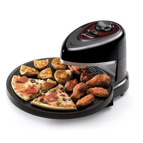 Horno el ctrico giratorio pizzazz plus 2 chic for Hornos de cocina electricos