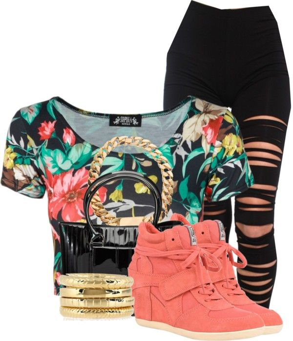 """Spring Break is here!!!!"" by mindless-sweetheart ❤ liked on Polyvore"