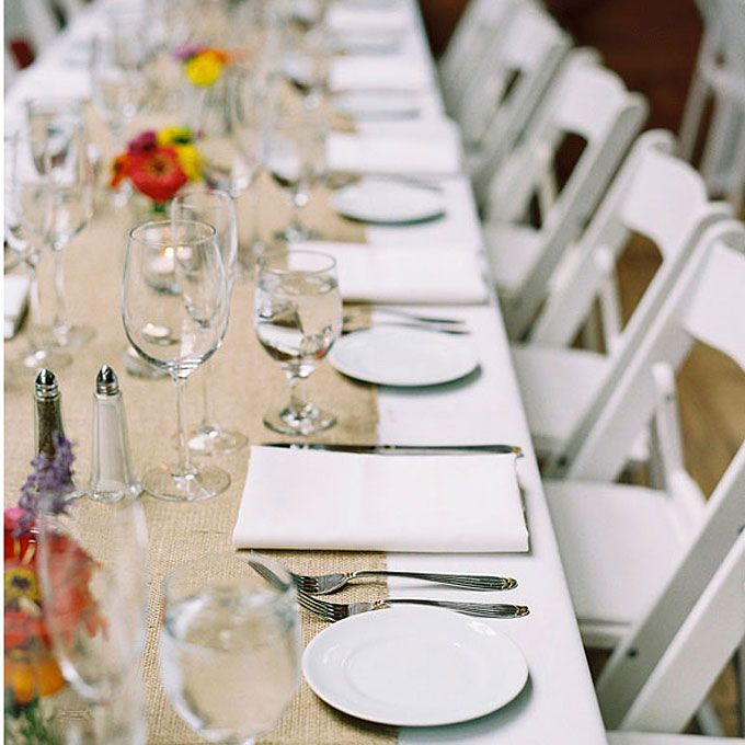 Casual Outdoor Wedding Reception Ideas: Rustic Casual Wedding Reception Decor