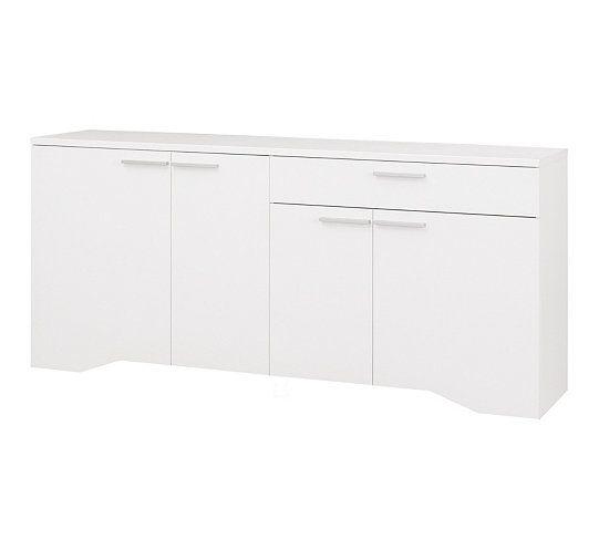 Buffet 4 portes 1 tiroir PALACE BLANC J33504 Buffet