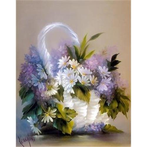 senza telaio pittura a mano fai da te pittura a olio del fiore baiyin 40 50 unica decorazione ...